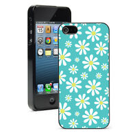 For Apple iPhone X XS Max XR SE 6 6s 7 8 Plus Hard Case Cover 1290 Daisy Flowers