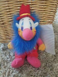 "Vintage 1999 DUMBO CLOWN 8"" Walt Disney PROTOTYPE Plush Stuffed Animal"