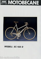 Motobecane ec150d foto de prensa foto bicicleta 1984 press photo de prensa Bicycle