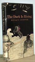 Susan Cooper - The Dark is Rising - 1st 1st HCDJ - 1973 - NR