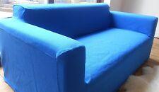 Ikea. Klobo Sofa Cover - Slipcover Blue