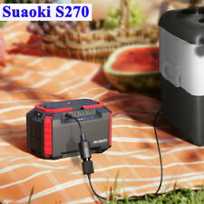 Suaoki 150Wh Portable Solar Generator Charger Power Station Battery Box AU Stock