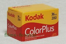 3 rolls KODAK COLORPLUS 200 35mm Color Film 135/36