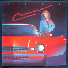 Prospekt brochure 1981 Chevrolet Camaro  (USA)