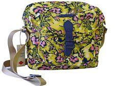 NEU Oilily Tasche Camo Flower M Shoulder Bag Pineapple Damen Umhängetasche Gelb