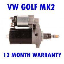 FITS VW GOLF MK2 MK II 1.8 1988 1989 1990 1991 REMANUFACTURED STARTER MOTOR