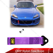 Universal Tow Strap Rope High Strength Nylon OMP JDM trailer Towing Rope Purple