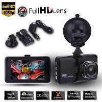 3'' Car DVR 1080P FHD Dash Cam Camera Video Recorder G-sensor Night Vision
