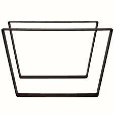eRocher 2x Patas hierro trapecio mesa centro banqueta - Fabricado en España
