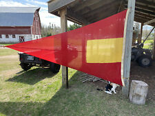 New listing Vintage 12' Maritime 4th Repeater Signal Flag Sand Hills Lighthouse, Michigan
