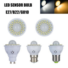 Sensor de movimiento Bulb B22 E27 2 3W GU10 PIR LED Light Day Warm White Ahorro