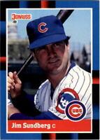 1988 Jim Sundberg Donruss Baseball Card #488