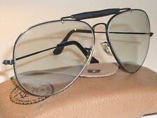 1960's 62-14 VINTAGE B&L RAY BAN PHOTOGRAY CHANGEABLES OUTDOORSMAN II SUNGLASSES