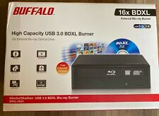 NEW Buffalo Technology BRXL16U3 MediaStation 16x External BDXL Blu-ray Burner