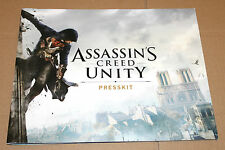 Assassin's Creed Unity Press Kit (30,5x24, 5 cm/26 PAGES/pages)