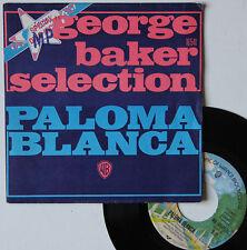 "Vinyle 45T George Baker Selection  ""Paloma blanca"""
