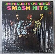 """JIMI HENDRIX EXPERIENCE 1969 Smash Hits 12"""" Vinyl 33 LP (MS 2025) BLUES ROCK VG"""