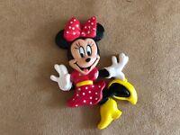 Minnie Mouse Disney magnet Vintage refrigerator 1995 plastic
