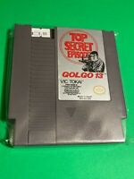 🔥 100% WORKING NINTENDO NES SUPER RARE GAME Cartridge - Vic Tokai - GOLGO 13
