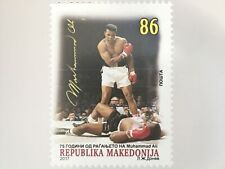 Makedonien Macedonia 2017 Nr. 807 Muhammed Ali Boxen Sport Boxkampf