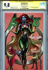 Avengers Vol 6 8 CGC 9.8 SS Mary Jane Vision Campbell variant D Stan Lee Thor