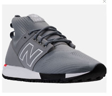 Men's New Balance 247 MID Knit Casual Shoes Trainer Sneaker MRL247OD Grey/White
