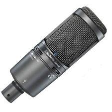 Audio Technica AT2020USB Plus Cardioid Condenser USB Microphone Pro Recording