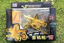 Maxim Machine Gun Battlefield Weapon Figure Model BB Bomb Launch 1:6 Toy Gift