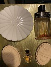 Balenciaga Le Dix Eau De Cologne 2oz Savon Soap 2 1/2 Oz Powder 4oz Splash Empty