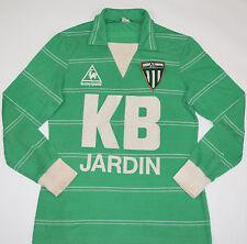 1981-1983 SAINT ETIENNE LE COQ SPORTIF HOME FOOTBALL SHIRT (SIZE M)