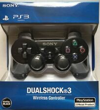 Original Black Sony PS3 Dualshock Playstation 3 Wireless Controller + USB Cable