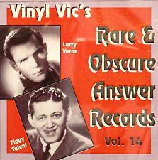 VINYL VIC'S 'Rare & Obscure Answer Records' - Vol# 14 - 29 VA Tracks