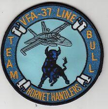 VFA-37 RAGIN' BULLS HORNET HANDLER TEAM BULL LINE PATCH