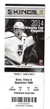 2014 SAN JOSE SHARKS VS LOS ANGELES KINGS PLAYOFFS GAME #6 TICKET STUB