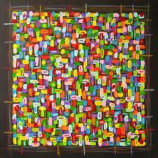 Bilder Abstrakt ART PICTURE MODERN DESIGN ACRYL GEMÄLDE MALEREI VON MICHA 123