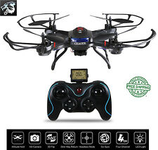 Remote Helicopter, F181 RC Quadcopter Drone with HD Camera RTF 4 Channel 2.4GHz