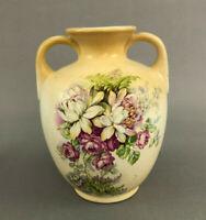 Antique Buffalo Pottery semi-vitreous china vase 1910s