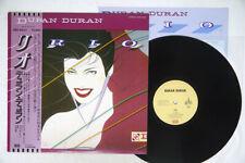DURAN DURAN RIO EMI EMS-91037 Japan OBI VINYL LP
