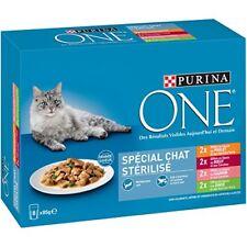 Purina One Croquettes au Boeuf pour Chat Sterilise 6 kg -x1-