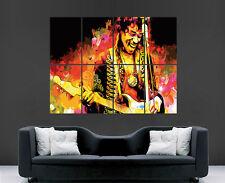 Jimi Hendrix Poster Cartel De Pared Gigante Leyenda De Arte Música impresión de foto grande enorme