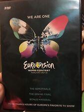 Eurovision Song Contest - Malmo 2013 DVD (3 discs) music ** RARE **