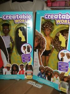 Hot Gift Mattel NEW Creatable World Dolls Great for the Holidays FREE POSTAGE