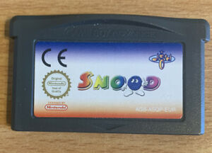 Snood Game For Game Boy Advance GBA GENUINE *Cartridge Only* PAL