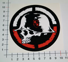 METAL MOTORCROSS Aufkleber Sticker Enduro MTB Quad MM Skull Totenkopf Bike Mi305