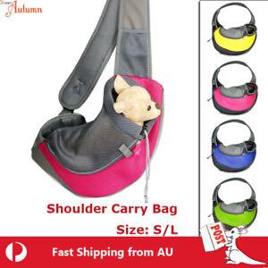 Clearance!Pet Shoulder Carrier Bag Puppy Cat Dog Travel Sling Backpack Portable