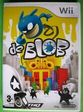 ★☆☆ Wii game - de Blob ☆☆★