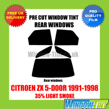 CITROEN ZX 5-DOOR 1991-1998 35% LIGHT REAR PRE CUT WINDOW TINT