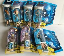 Avatar Level 1 Seven Action Figures Collection Fike Spellman Quaritch Wainfleet
