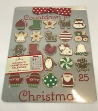 Hallmark Advent Calendar Countdown to Christmas Cookie Sheet Magnetic Magnets