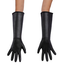 The Incredibles 2 ADULT Black Gloves Costume Accessory Mr. Mrs. Elastigirl
